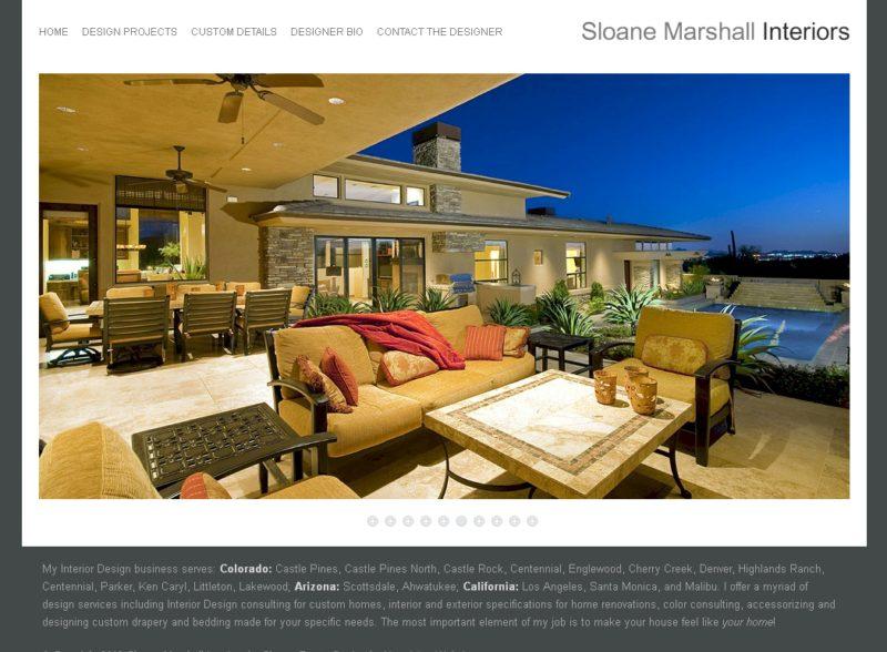 WordPress Websites for Interior Designer